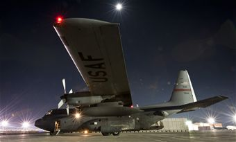Hercules Flies Through the Night