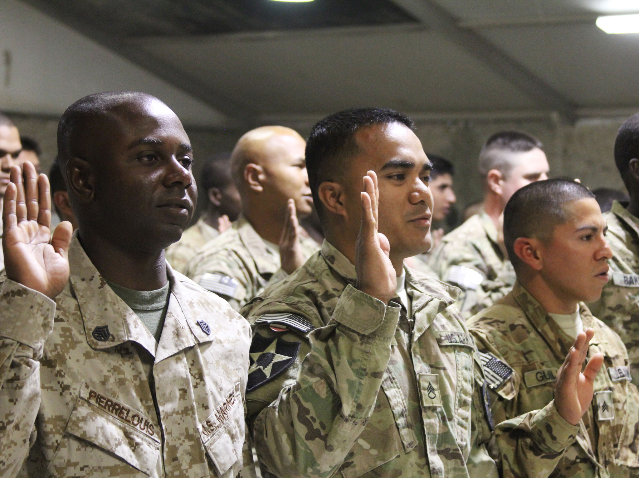 US Troops Become American Citizens … In Kandahar | MilitaryFeed.