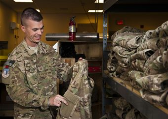 First Sergeant Recycles $250K in OCP Uniforms for Bagram Airmen