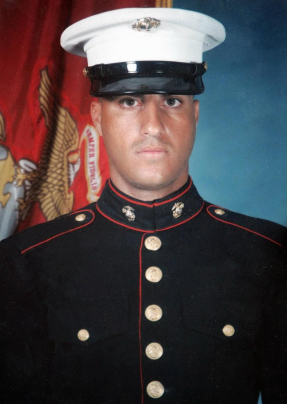 Lebanese-born US Marine Corporal Wassef Ali Hassoun, who was believed to be held hostage in Iraq.