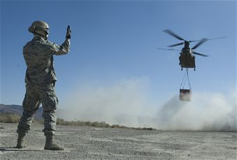 820th RED HORSE Sling Load Operation