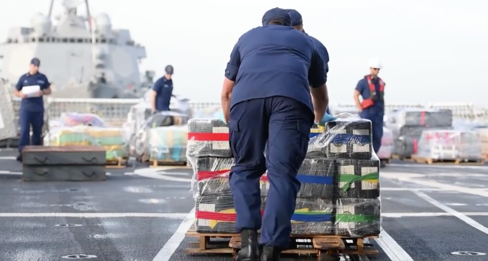 US Coast Guard cocaine seizure drug smuggling