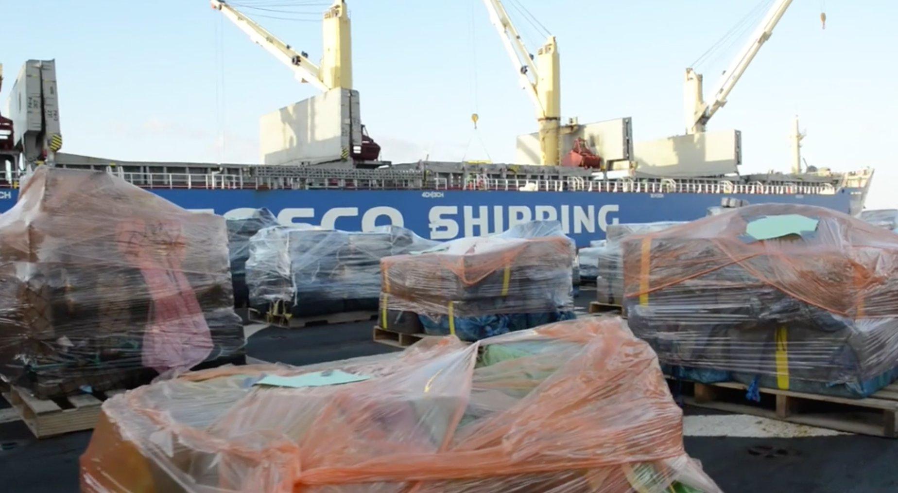 Coast Guard cocaine drug bust