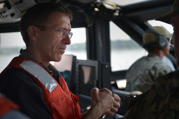 Assistant Secretary of the Navy Research, Development and Acquisition Sean J. Stackley visits Naval Surface Warfare Center Indian Head, Md. US Navy Photo