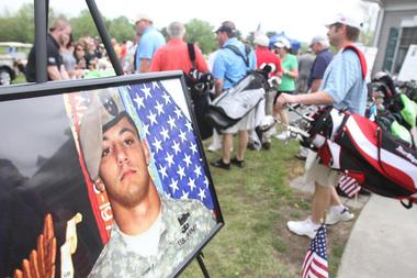 Inaugural Honoring Sandrino's Sacrifice Fund Golf Outing, May 4, 2012