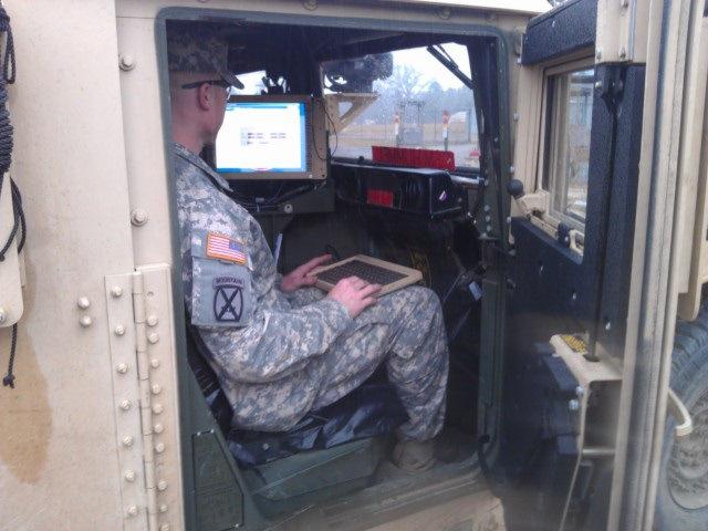4th Brigade Combat Team testing new equipment(Dave Williams)